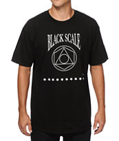 Black Scale Geo Logo T-Shirt