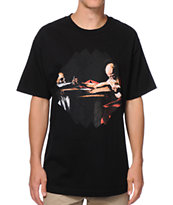 Black Scale It Was Written Black Tee Shirt