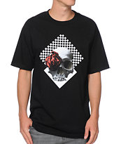 Black Scale Life And Beauty Black Tee Shirt
