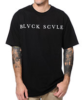 Black Scale Logotype 2013 Black Tee Shirt