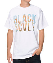 Black Scale Mi Amor White Tee Shirt