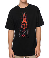 Black Scale Passage Rituals Black & Red Tee Shirt