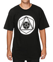 Black Scale Pentagram Hex T-Shirt