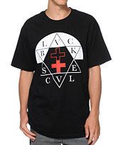 Black Scale Sabbath Black Tee Shirt
