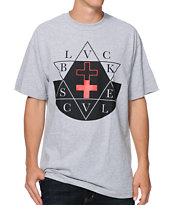 Black Scale Sabbath Grey Tee Shirt