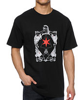Black Scale Six Pointed Knight Tee Shirt