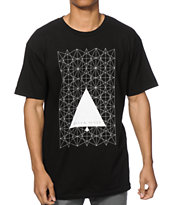 Black Scale Star Angle T-Shirt