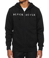 Black Scale Starphomet Zip Up Hoodie
