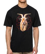 Black Scale The Goat T-Shirt