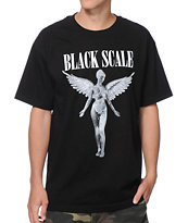 Black Scale Unborn Black Tee Shirt