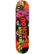 Blackout B Movie 8.0 Skateboard Deck
