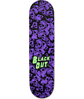 "Blackout I Like Skulls 8.0"" Skateboard Deck"