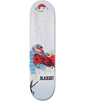 Blackout New Hat 8.0 Skateboard Deck