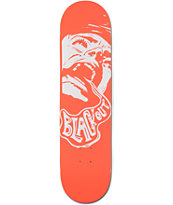 Blackout Tangerine Scream 8.0 Skatboard Deck