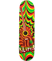 "Blind Guitar Rasta 7.75"" Skateboard Deck"