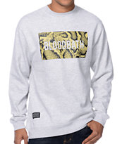 Bloodbath Boxed Python Grey Crew Neck Sweatshirt