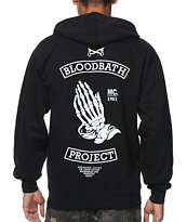 Bloodbath Last Prayer Black Pullover Hoodie
