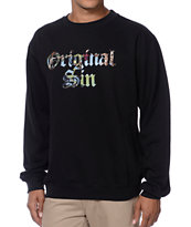 Bloodbath Original Sin Black Crew Neck Sweatshirt