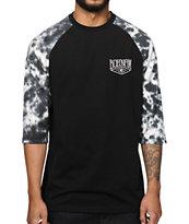 Bohnam Dixie Tie Dye Baseball T-Shirt