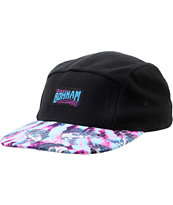 Bohnam Don't Trip Black 5 Panel Hat