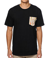 Bohnam Lures Black Pocket Tee Shirt