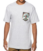 Bohnam Space Beetle Pocket Tee Shirt