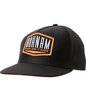 Bohnam Supply Co Hitch Black Snapback Hat