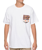 Bohnam Supply Co. Sahara White Pocket Tee Shirt