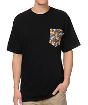 Bohnam Supply Co. Sassy Bass Black Pocket Tee Shirt