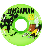 Bones Bingaman Camp STF 53mm Skateboard Wheels