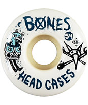 Bones Dead Heads 54mm STF Skateboard Wheels