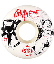Bones Gravette Pro STF Killers 51mm Skateboard Wheels