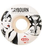 Bones Raybourn Hepbourn STF 55mm Skateboard Wheels