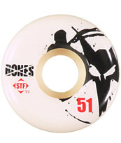 Bones Thin STF 51mm Skateboard Wheels