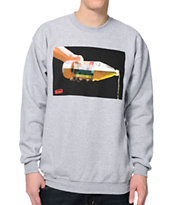 Booger Kids For The Homies Grey Crewneck Sweatshirt