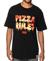 Booger Kids Pizza Rules Tee Shirt