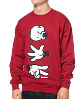 Booger Kids RPC Classic Red Crew Neck Sweatshirt