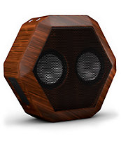 Boombotix Rex Wood Grain Portable Speaker