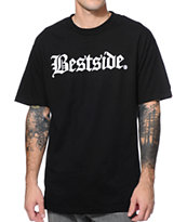 Breezy Excursion Bestside Black & White Tee Shirt