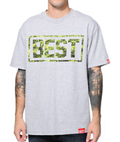 Breezy Excursion Cannabest Grey Tee Shirt