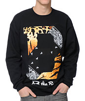 Breezy Excursion FTR B Black Crew Neck Sweatshirt