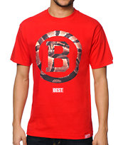Breezy Excursion Snake Hold Red Tee Shirt