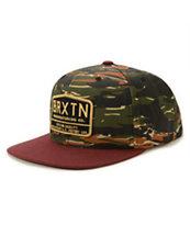 Brixton Axle Snapback Hat