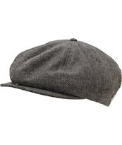 Brixton Brood Grey & Black Snap Cap