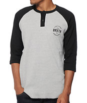 Brixton Cane Thermal Henley Baseball T-Shirt