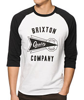 Brixton Cauder Baseball T-Shirt