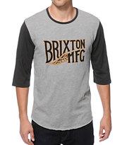 Brixton Coventry Baseball T-Shirt