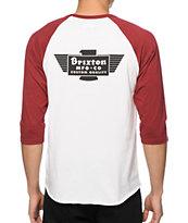 Brixton Cylinder Baseball T-Shirt
