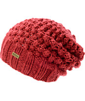 Brixton Girls Patsy Rust Red Slouch Beanie