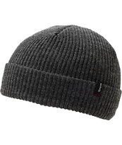 Brixton Heist Heather Grey Fold Beanie